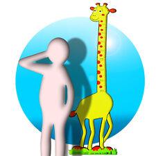 Messlatte für Kinder als Wandtattoo Motiv Maßband Kind Größe messen Giraffe