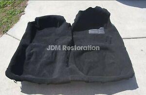 Jza80 RHD Toyota Supra Black Plush Carpet 93-02 2jz Trd Sz Szr Rzs Gz Rz Recaro