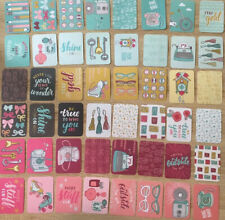 "Project Life Cards Becky Higgins Knick knack  Edition 50 Karten 3x4"""