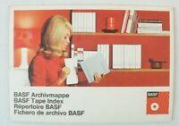 BASF Archivmappe 5 Blätter unbeschrieben B-15343