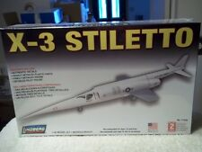 X-3 Stiletto airplane model kit by Lindberg, MIB