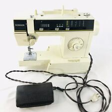 Vintage Singer Heavy Duty Sewing Machine Model 6212C w/ Foot Pedal Tested Works