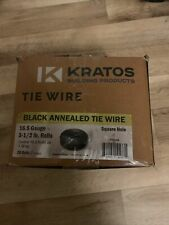Black Annealed Rebar Tie Wire 16.5 Gauge- 20 rolls/box