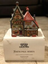 Heritage Village Collection North Pole Series Obbie's Books & Letrinkas Candy
