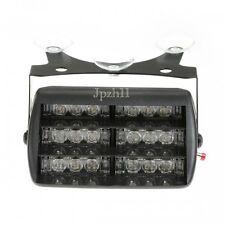 New 18 LED R/R Car Police Strobe Flash Light Dash Emergency 3 Flashing Modes #YO