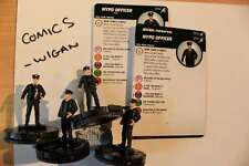 Marvel Heroclix Superior Foes of Spider-Man #003a NYPD Officier x 4 4 figurines