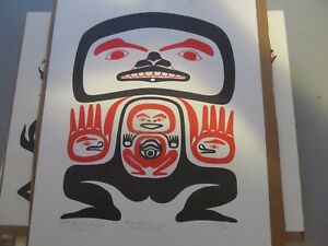Northwest Native Art Wayne Carlick  Taku Tlingit  151/300   FREE SHIPPING