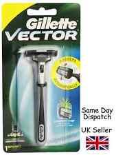 Gillette Genuine Vector Classic Razor handle - 1 Pre-loaded Cartridge