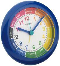 Adora Horloge d'APPRENTISSAGE ENFANTS quartz en bleu avec lernziffernblatt 29012