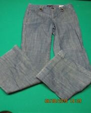 Tommy Hilfiger Womens Denim Mid Rise Blue Jeans Madison Trouser 6 NEW NWOT