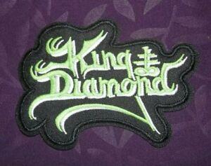 KING DIAMOND PATCH  MERCYFUL FATE HEAVY METAL SPEED METAL THRASH METAL 80'S