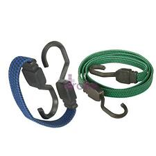 380mm Flat Bungee Cord/Band – Elastic Luggage Rope Straps – Car/Bike Tie Stretch