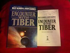 """Buzz Aldrin/Apollo11 astronaut,Moonwalker"" signed 1st Ed.""Encounter With Tiber"""