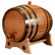 3 Liters American White Oak Wood Aging Barrels Age your own Tequila Whiskey Wine
