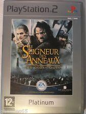 PS2 PS3 LE SEIGNEUR DES ANNEAUX LES DEUX TOURS PLAYSTATION 2 LE SEIGNEUR PLA PS2