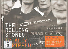 """ROLLING STONES """"Totally Stripped"""" Deluxe Edition 4DVD + CD Hardbook sealed RARE"""