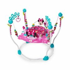 DISNEY MINNIE MOUSE BABY TODDLER ACTIVITY JUMPER BOUNCER - LIGHT SOUNDS TOY GIFT