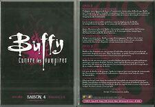 BUFFY CONTRE LES VAMPIRES / SAISON 4 - EPISODES 1 à 8 ( 2 DVD ) SARAH MICHELLE