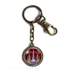 Jedi Order Keychain Key Chain Key Ring Cute Keyring Car Symbol Emblem Cosplay