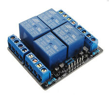 5V 4 Channel Relay Module Extension Switch Board For Arduino PIC ARM  Hot Sale