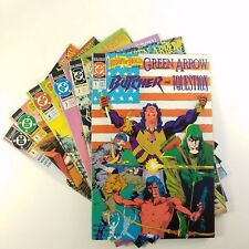 Brave and the Bold (1991) Complete Set of 6 (#1-6) VF+ (Avg.) Grell, Green Arrow