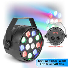 Max Partypar Rgbw 12 X 1 Watt Quad Colour Led Dmx Mini Par Can Light