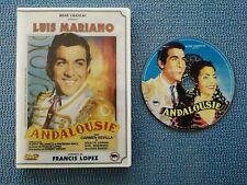 ANDALOUSIE AVEC LUIS MARIANO EN DVD (ENVOI MONDIAL RELAY)