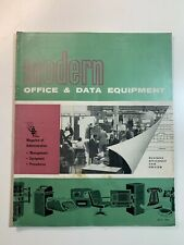 Vintage Catalogue - Modern Office & Date Equipment July 1964