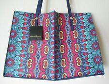 BRAND NEW NANETTE LEPORE Navy Multi Color Floral Tote Shoulder Handbag Purse