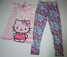 New Princess Hello Kitty Sequin Lace Tunic Top Legging Outfit Set Size 4T NWT