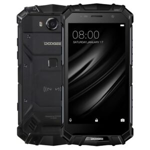 """DOOGEE S60 Lite 4GB+32GB 5.2"""" Android 7.0 Octa Core Triple Proofing Phone EU"""