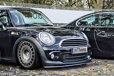 SPOILER spada front spoiler labbro cuplippe da ABS per Mini Cooper r56 con ABE