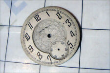 antique SOUTH BEND pocket watch ORNATE POCKETWATCH face part only / embossed