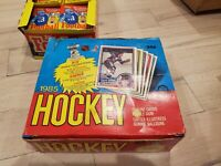 1984/85 O-Pee-Chee Hockey Wax Pack MINT from box never opened or sorted.