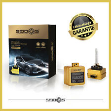 Ensemble Duo Seidos D1S 6000K Édition Gold Lampe à Décharge de Gaz Xenon Phare