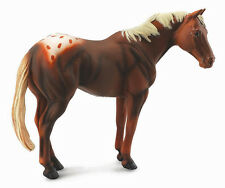 CollectA 88436 Chestnut Appaloosa Stallion Horse Model Toy Figurine - NIP