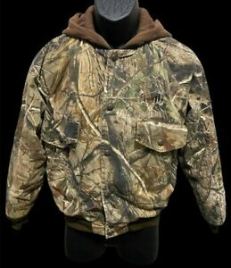 REDHEAD Youth Hunting Insulated Hooded Jacket. Size Youth L.