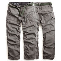 G-STAR RAW SUMMER CARGO PANTS ROVIC LOOSE MILITARY GS GREY +BELT  W31,W33