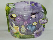 Disney Fairies Tinker Bell & the Great Rescue Animal Friends Figures NIB - Read