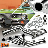 For Chevy Big Block 396/402/427/454 V8 Stainless Steel Long Tube Exhaust Header