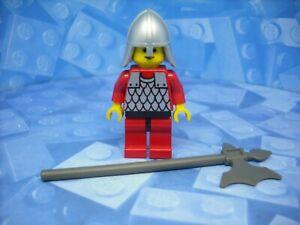 Lego - Castle - Red Knight - Minifigure