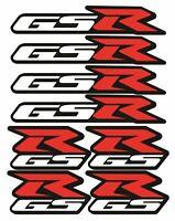 Suzuki GSR Decal Blatt 8 Aufkleber GSR 600 750 Laminated /112