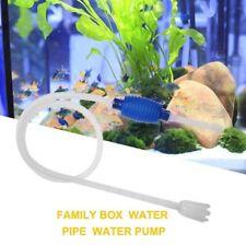 Tank Siphon Gravel Vacuum Pump Aquarium Clean Suction Pipe Tube Water Filter