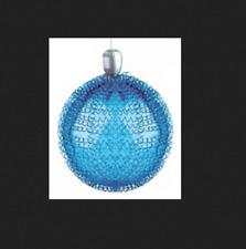 GKI/BETHLEHEM Lights 6 inch Blue Glass LED Maille Sphere 100026990