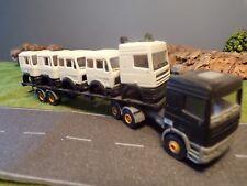 Kibri Auflieger mit LKW Teile DAF 95 Zugmaschine 1:87 H0