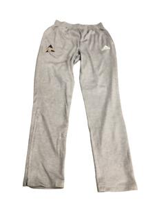 Adidas NCAA Alcorn State Uni. Wmn's Zip SweatPants Gray/Purple/Gold cw1793