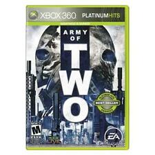 ARMY OF TWO [PLATINUM HITS] (XBOX 360, 2008) MICROSOFT