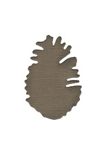 Lifestyle Crafts QuicKutz 2x2 Single Die Pine Cone Camping, Fall, Forest -Ds0004