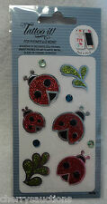 ad Tattoo It cell phone smart Sticker ladybug decorate kindle laptop iphone