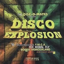 Disco Explosion - the Disc-O-Mates - 16 Disco Hits:  Y.M.C.A., Night Fever, etc.